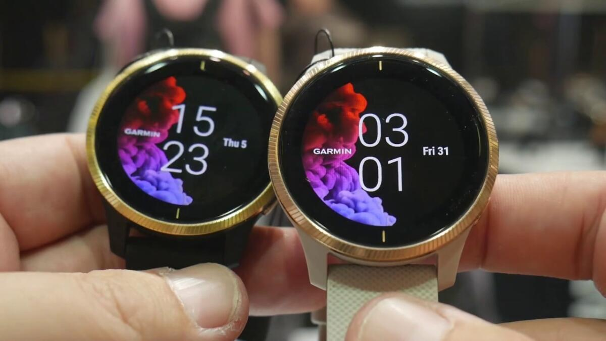 Garmin Venu : recensioni e pareri del primo smartwatch con schermo AMOLED